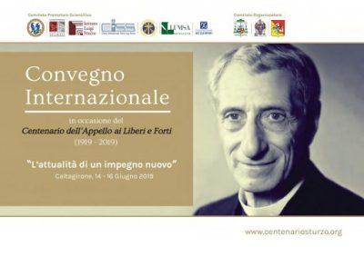 Convegno internazionale Don Sturzo