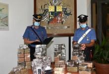 carabineri- sequestro 85kg droga