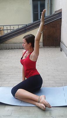 Esercizio 2 rotazioni busto e gambe 3