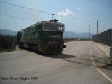 DE520 in manovra presso Anagni