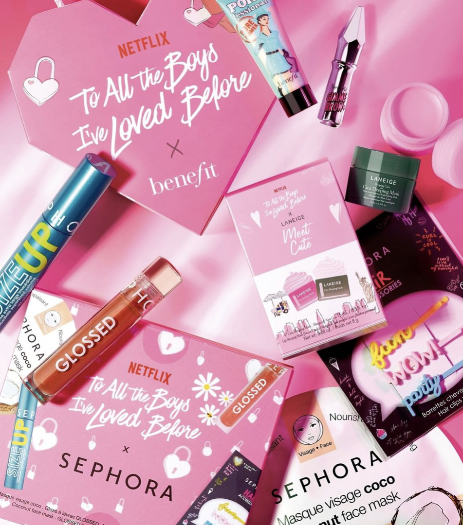 To All The Boys I've Loved Before x Sephora Collection: 3 set esclusivi