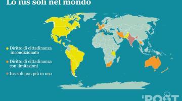 Ius soli, falso problema. In Italia record di cittadinanze