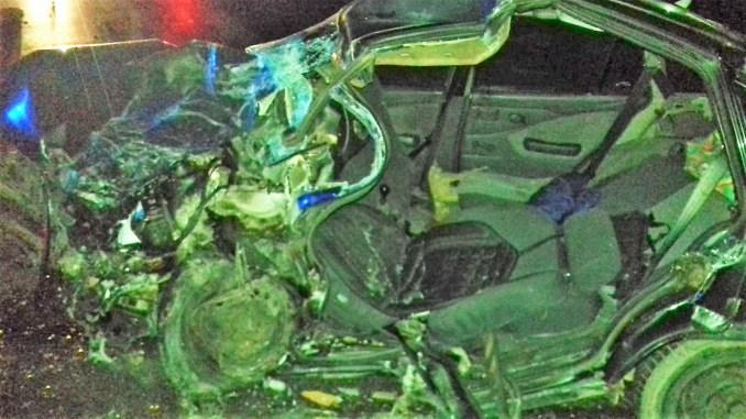 Doi morți și doi răniți, într-un accident rutier petrecut în Urziceni. FOTO ISU Ialomița