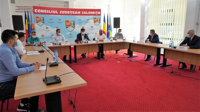 Patru noi proiecte ADI, finanțate de Consiliul Județean Ialomița