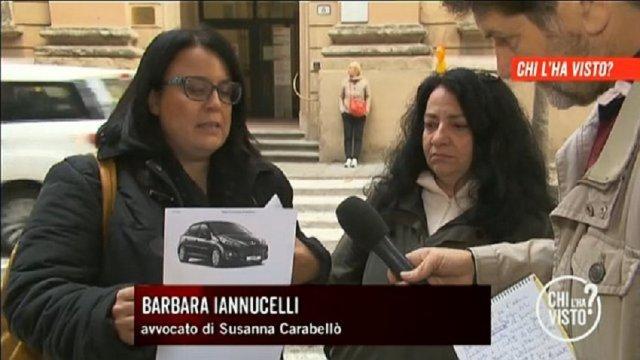 Biagio Carabellò, Barbara Iannuccelli - Chi l'ha visto
