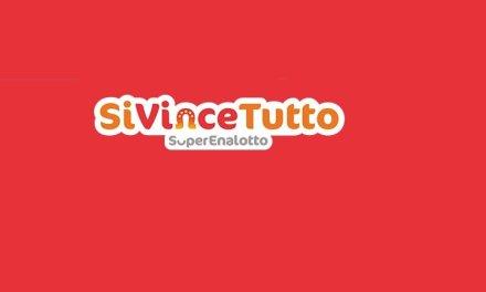 SiVinceTutto SuperEnalotto: numeri vincenti e premi, estrazione del 19 luglio
