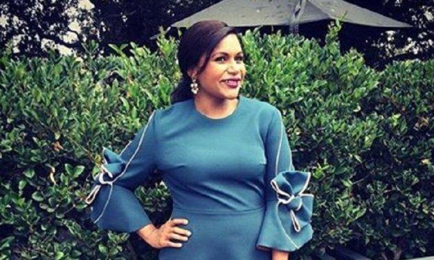 Mindy Kaling: l'attrice comica conferma, è incinta del suo primo figlio