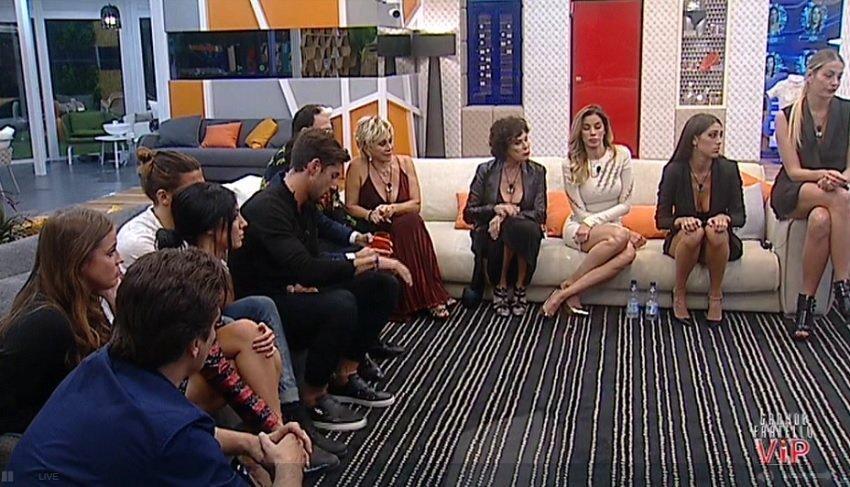 Gf Vip 2017 nomination: Jeremias Rodriguez Vs Veronica Angeloni