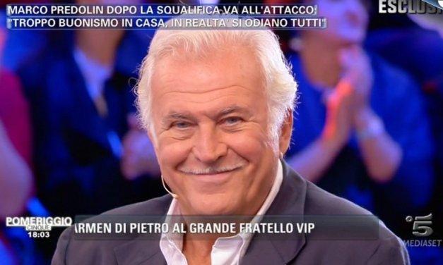 """Marco Predolin: Nella gogna a Pomeriggio 5, """"Si odiano tutti"""""""