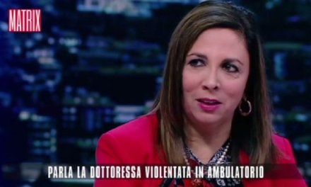 """Serafina Strano a Matrix, """"Mi sono sentita violentata una seconda volta""""   VIDEO"""