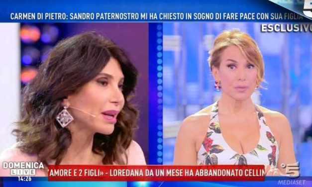 Carmen Di Pietro: Sandro Paternostro mi ha chiesto di fare pace coi figli
