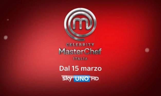 Celebrity MasterChef 2, si accendono i fuochi il 15 marzo