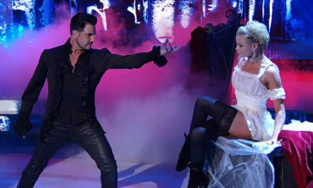 Don Diamont e Hanna Karttunen, un Freestyle a metà? (VIDEO)