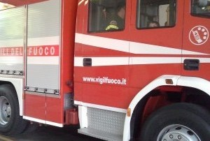 Cupello, fiamme in zona abitata
