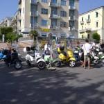 Vespa day, 15 lug 12, Piazza Marconi