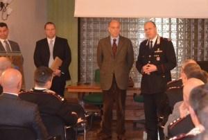 Il procuratore capo dell'Aquila in visita al Comando Legione Carabinieri