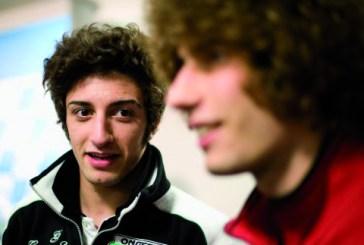 Maxi schermo per l'esordio nella MotoGP di Andrea Iannone