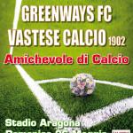 Locandina Vastese vs Greenways