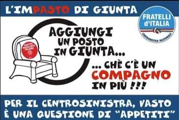Fratelli d'Italia sceglie l'ironia per commentare il rimpasto di giunta