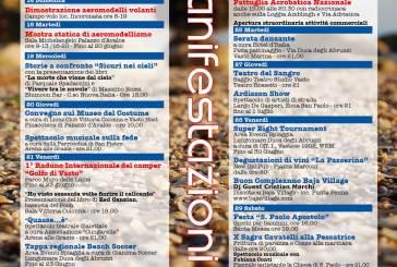 Presentato il calendario delle manifestazioni estive per il mese di giugno
