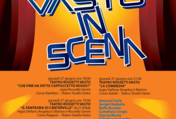 Saggi finali del Teatro Studio Vasto al Teatro Rossetti