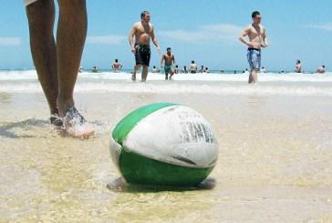 Organizzato torneo dimostrativo di beach rugby