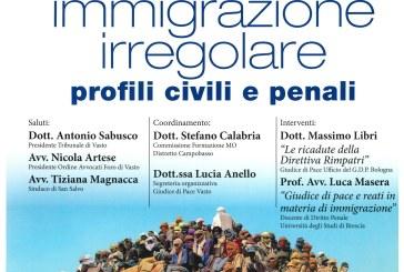 """San Salvo: domani convegno su """"Immigrazione irregolare. Profili civili e penali"""""""
