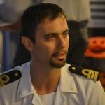 il comandante della Capitaneria di Porto, Giuliano D'Urso