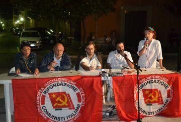 Assemblea pubblica sull'acqua di Rifondazione Comunista