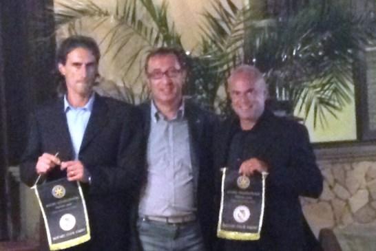 Andreoni con Cassano e D'Ugo