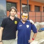 Boca, mister Bozzelli a destra, 21 set 13