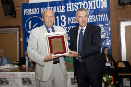 Premio Cultura a D'Alessandro