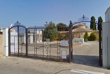 Cimitero di Vasto, cambia l'orario di chiusura