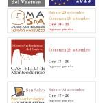 musei parsifal giornate europee del patrimonio