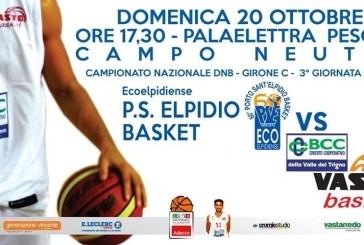 Bcc Vasto Basket, anche domenica gara casalinga in campo neutro