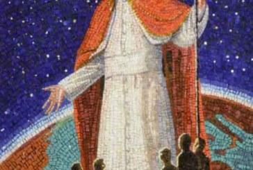 Un mosaico a ricordo di Papa Giovanni Paolo II