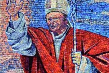 A Campo Imperatore un mosaico del Papa Santo