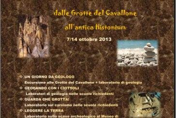 Geocando con i ciottoli…dalle Grotte del Cavallone all'antica Histonium