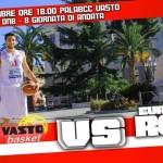 BCC Vasto Basket, locandina gara 24 nov 13, giornata 8