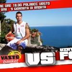 BCC Vasto Basket, locandina per gara 1 dic 13