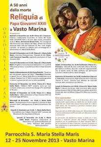 Papa Giovanni XXIII, programma