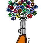 fucile fiori