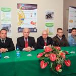 Quadrangolare calcio, conferenza stampa 13 dic 2013