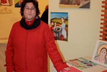 La pittrice Donatella Di Gregorio espone per la Croce Rossa