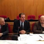 Da sinistra il Sindaco di Lanciano Pupillo, il Presidente Di Giuseppantonio e il Vice Presidente Tavani