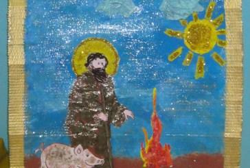 Primo premio per i disegni su Sant'Antonio Abate