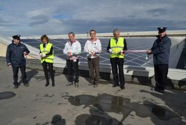 Inaugurato l'impianto fotovoltaico alla Denso