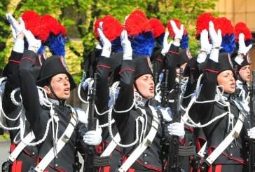 Carabinieri: 342 allievi e 247 marescialli
