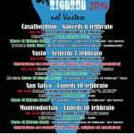 MANIFESTO GIORNO DEL RICORDO 2014