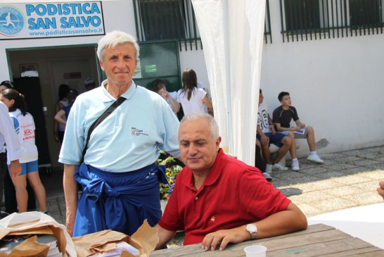 Ottavio Di Tullio con Pietro Mennea